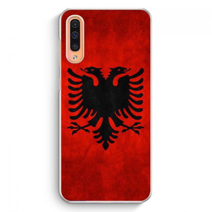 Samsung Galaxy A50 Hardcase Hülle - Albanien Albania