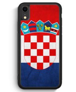 iPhone XR Silikon Hülle - Kroatien Hrvatska Croatia