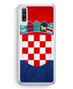 Samsung Galaxy A70 Hardcase Hülle - Kroatien Hrvatska Croatia
