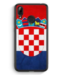 Huawei Y7 (2019) Silikon Hülle - Kroatien Hrvatska Croatia