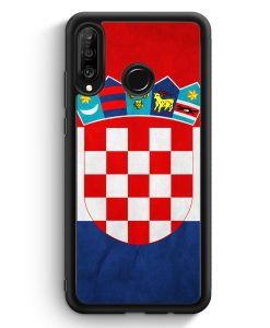 Huawei P30 Lite Silikon Hülle - Kroatien Hrvatska Croatia