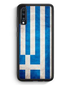 Samsung Galaxy A70 Silikon Hülle - Griechenland Hellas Greece