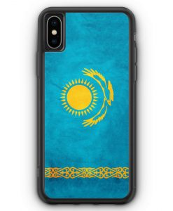 iPhone XS Max Silikon Hülle - Kasachstan Kazakhstan