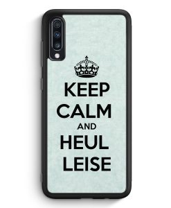 Samsung Galaxy A40 Silikon Hülle - Keep Calm And Heul Leise