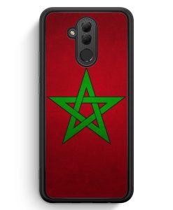 Huawei Mate 20 Lite Silikon Hülle - Marokko Morocco