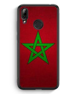 Huawei Y7 (2019) Silikon Hülle - Marokko Morocco