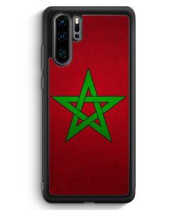 Huawei P30 Pro Silikon Hülle - Marokko Morocco