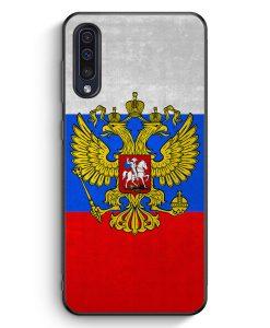 Samsung Galaxy A50 Silikon Hülle - Russland Russia Rossiya