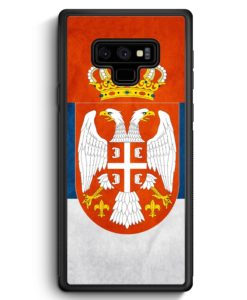 Samsung Galaxy Note 9 Hülle Silikon - Serbien Srbija Serbia