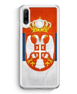 Huawei P30 Lite Hardcase Hülle - Serbien Srbija Serbia