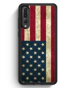Huawei P20 Pro Hülle Silikon - USA America Amerika