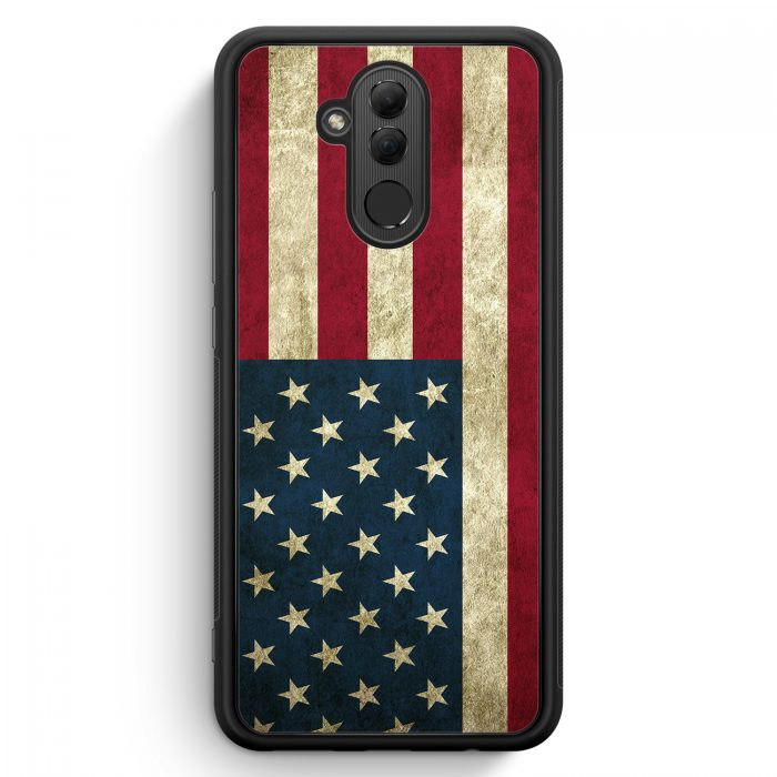 Huawei Mate 20 Lite Silikon Hülle - USA America Amerika