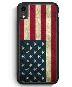 iPhone XR Silikon Hülle - USA America Amerika
