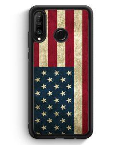 Huawei P30 Lite Silikon Hülle - USA America Amerika
