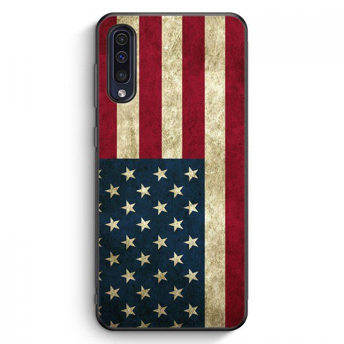 Samsung Galaxy A50 Silikon Hülle - USA America Amerika