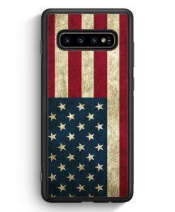 Samsung Galaxy S10 Silikon Hülle - USA America Amerika