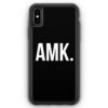 iPhone XS Max Silikon Hülle - AMK