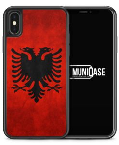 iPhone X Hülle SILIKON - Albanien Albania