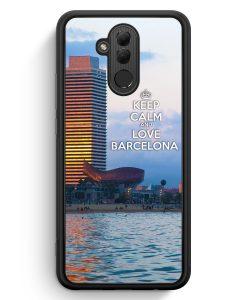 Huawei Mate 20 Lite Silikon Hülle - Keep Calm And Love Barcelona