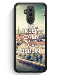 Huawei Mate 20 Lite Silikon Hülle - Keep Calm And Love Berlin