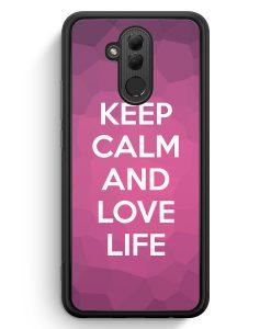 Huawei Mate 20 Lite Silikon Hülle - Keep Calm And Love Life