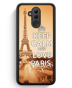 Huawei Mate 20 Lite Silikon Hülle - Keep Calm And Love Paris