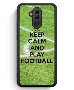 Huawei Mate 20 Lite Silikon Hülle - Keep Calm And Play Football