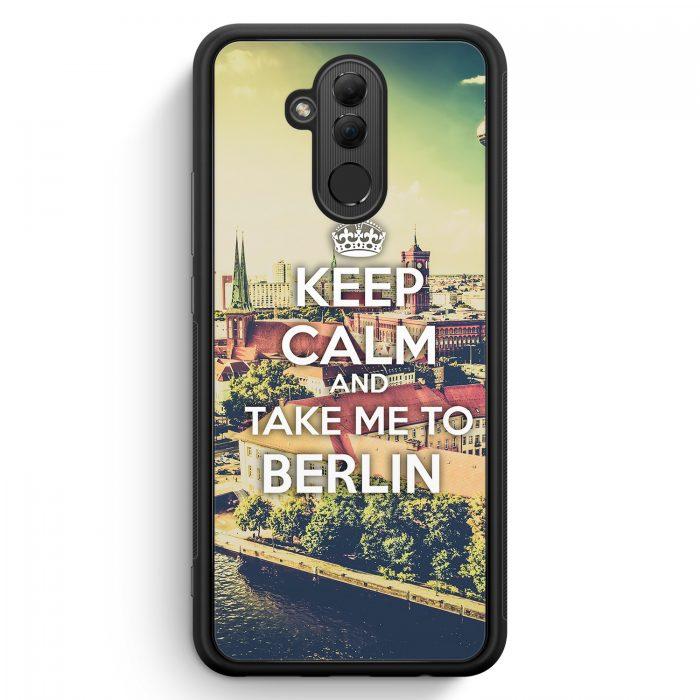 Huawei Mate 20 Lite Silikon Hülle - Keep Calm And Take Me To Berlin