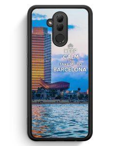 Huawei Mate 20 Lite Silikon Hülle - Keep Calm And Take Me To Barcelona