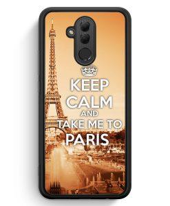 Huawei Mate 20 Lite Silikon Hülle - Keep Calm And Take Me To Paris