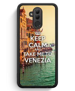 Huawei Mate 20 Lite Silikon Hülle - Keep Calm And Take Me To Venezia Venedig