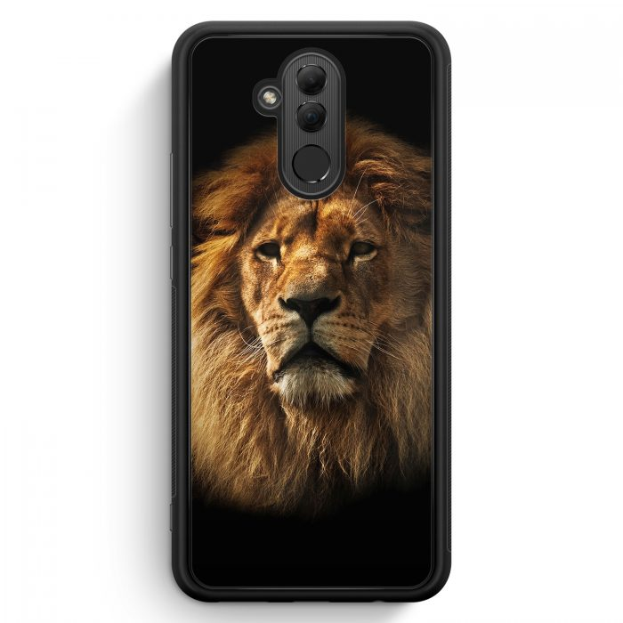 Huawei Mate 20 Lite Silikon Hülle - Löwe Lion Foto