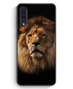 Samsung Galaxy A50 Silikon Hülle - Löwe Lion Foto
