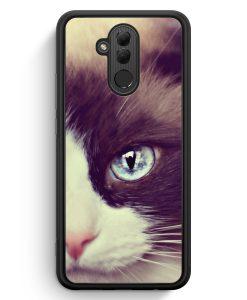 Huawei Mate 20 Lite Silikon Hülle - Süße Katze Cat
