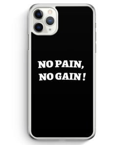 iPhone 11 Pro Max Hardcase Hülle - No Pain
