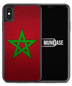 iPhone X Hülle SILIKON - Marokko Morocco