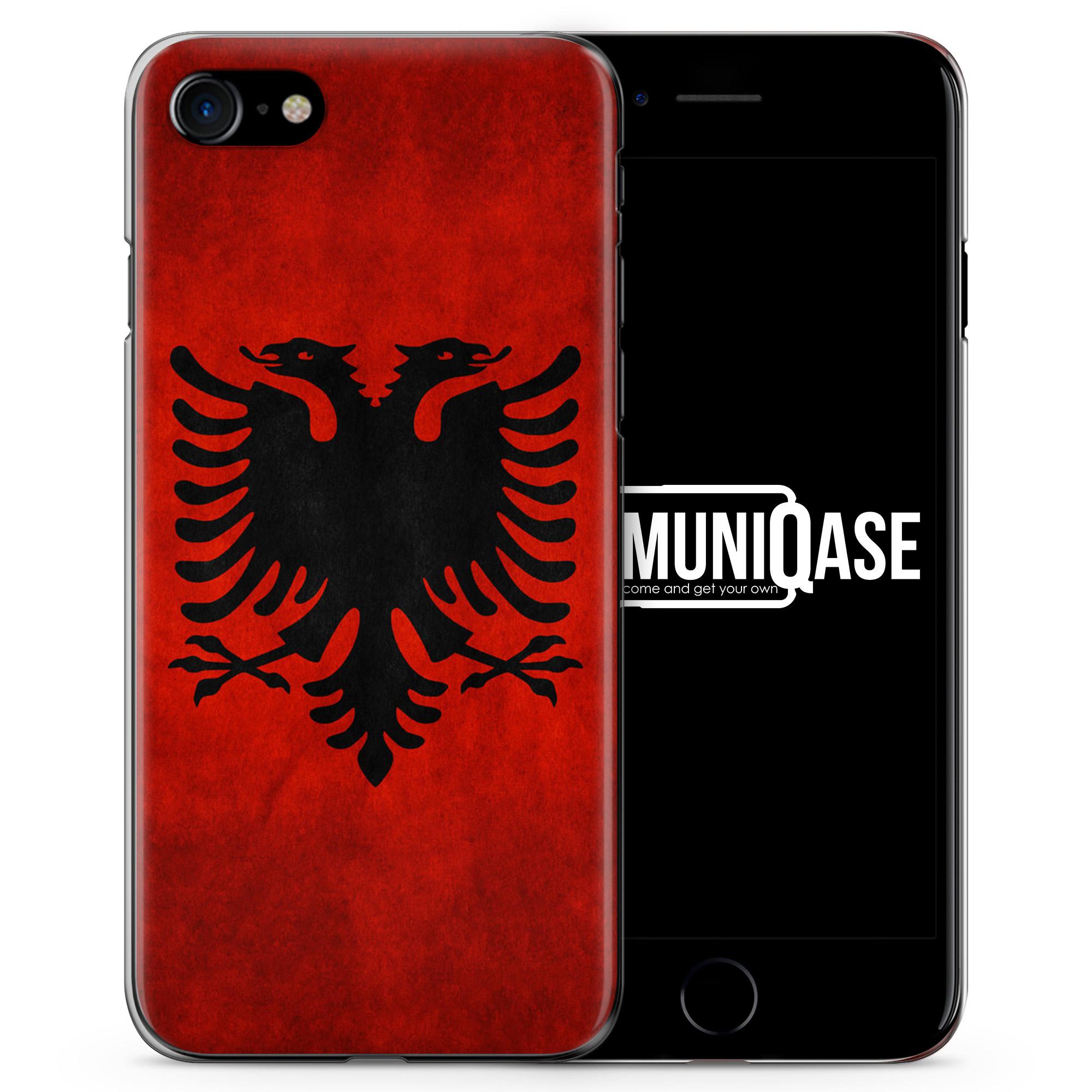 Albanien Albania - Slim Handyhülle für iPhone 7