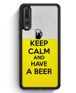 Huawei P20 Pro Hülle Silikon - Keep Calm And Have A Beer