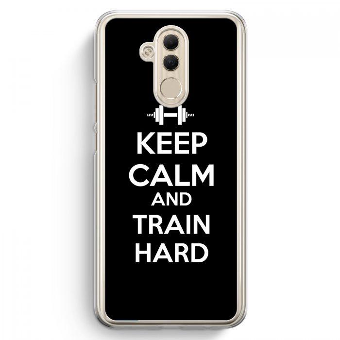 Huawei Mate 20 Lite Hardcase Hülle - Keep Calm And Train Hard