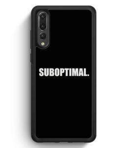 Huawei P20 Pro Hülle Silikon - Suboptimal