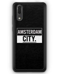 Huawei P20 Hülle Silikon - Amsterdam CITY
