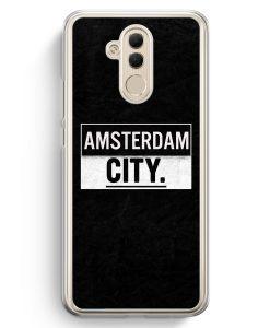 Huawei Mate 20 Lite Hardcase Hülle - Amsterdam CITY