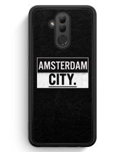 Huawei Mate 20 Lite Silikon Hülle - Amsterdam CITY