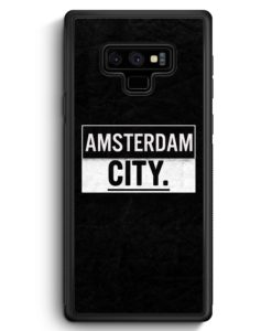 Samsung Galaxy Note 9 Hülle Silikon - Amsterdam CITY