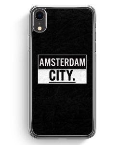 iPhone XR Hardcase Hülle - Amsterdam CITY