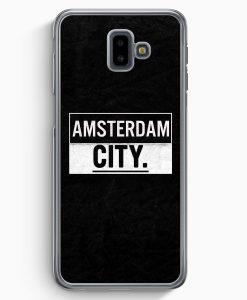 Samsung Galaxy J6+ Plus (2018) Hardcase Hülle - Amsterdam CITY