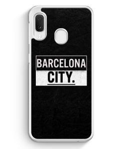 Samsung Galaxy A20e Hardcase Hülle - Barcelona CITY
