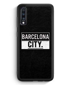 Samsung Galaxy A70 Silikon Hülle - Barcelona CITY