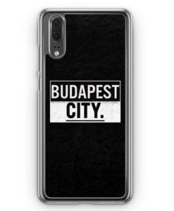 Huawei P20 Hülle Hardcase - Budapest CITY
