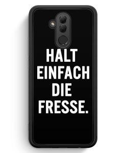 Huawei Mate 20 Lite Silikon Hülle - Halt Einfach Die Fresse